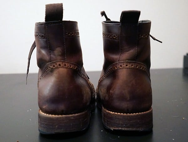 Brown Thursday Boot Reviews Rear View