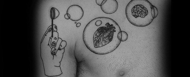 Bubble Tattoos For Men