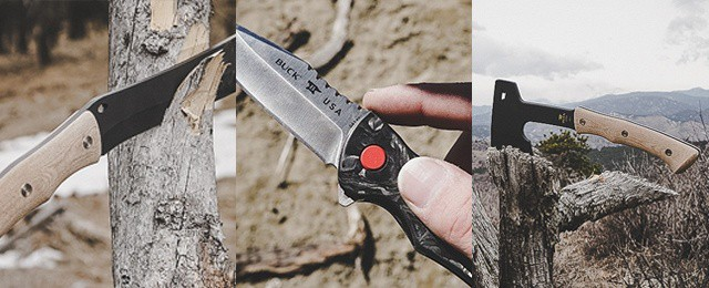 Buck Knives Compadre Froe 841 Sprint Pro Compadre Camp Axe Review