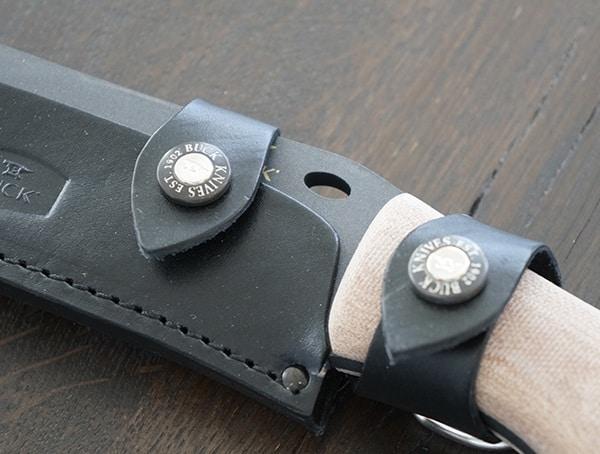 Buck Knives Compadre Froe Sheath Snap Button Closure