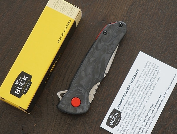 Buck Knives Sprint Pro Knife With Box