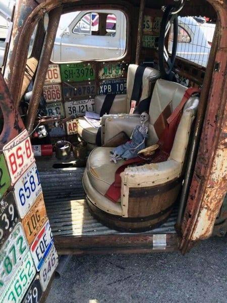 Bucket Barrel Seats Rat Rod Interiors