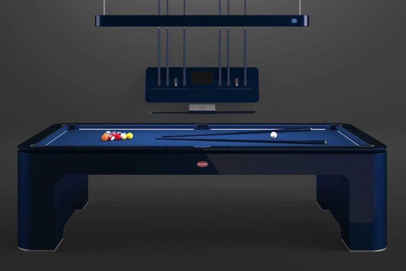 Bugatti Unveils $300K Pool Table for Yachts