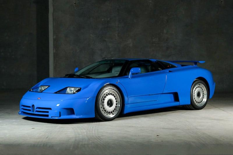 Rare 1994 Bugatti EB 110 GT Prototype Up for Auction