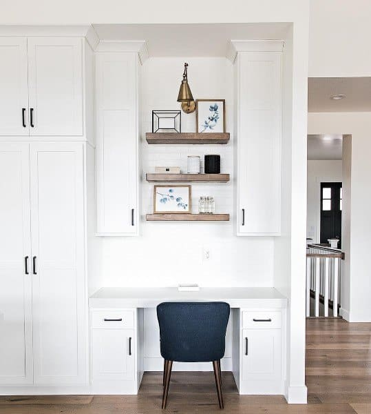 Built In Desk Cabinets