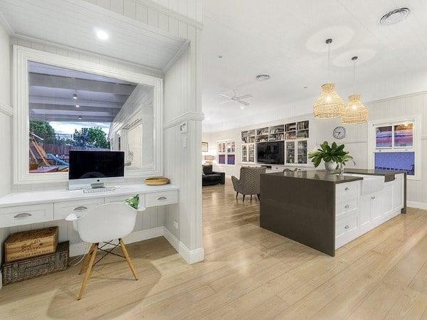 Built In Kitchen Desk