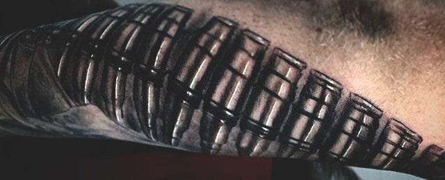 60 Bullet Tattoos For Men – A Shot Of Design Ideas