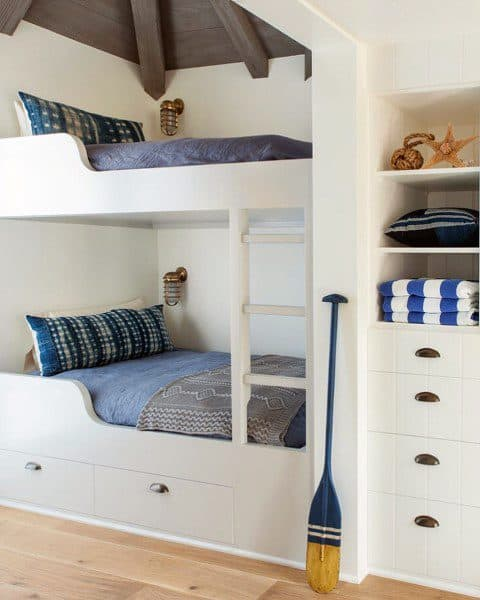 built-in bedroom storage ideas
