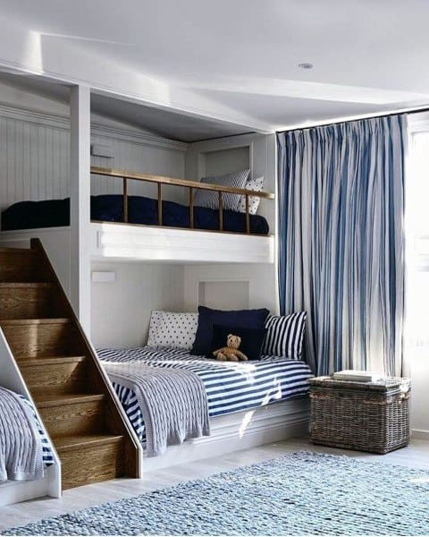 pattern bedroom curtain ideas