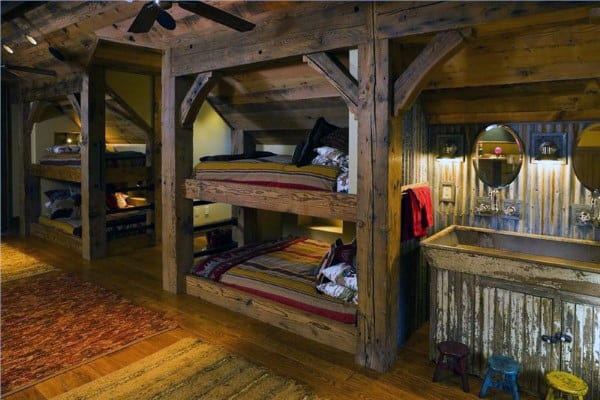 bunk bed ideas top 70 best bunk bed ideas space saving bedroom designs 31043
