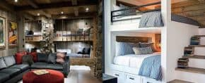 Top 70 Best Bunk Bed Ideas – Space Saving Bedroom Designs