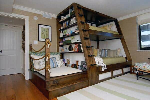 bookshelves bedroom storage ideas