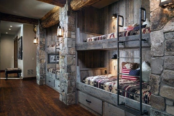 Bunk Bed Storage Ideas