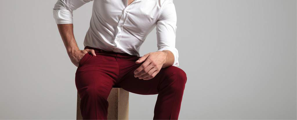 Top 53 Burgundy Pants Outfits for Men in 2020