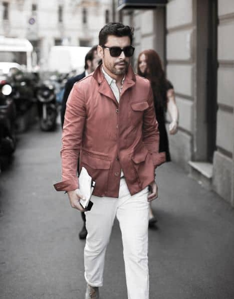 Burgundy Red Coat What To Wear With Mens Clothing White Jeans Outfits Styles