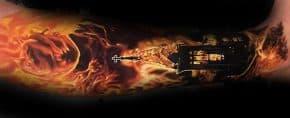 60 Burning Church Tattoo Designs For Men – Flaming Ink Ideas