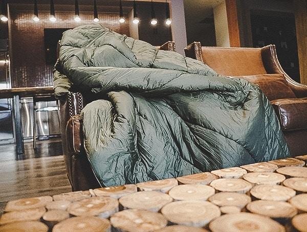 Burnt Olive Two Person Rumpl Original Blanket Reviews