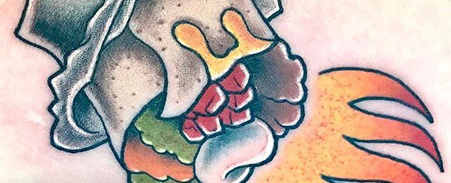 Burrito Tattoo Designs For Men