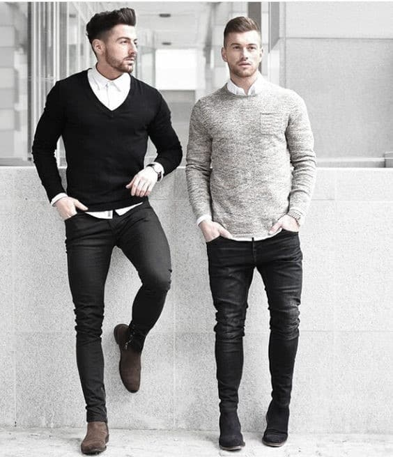 What To Wear With Black Jeans For Men , 50 Fashion Style Ideas