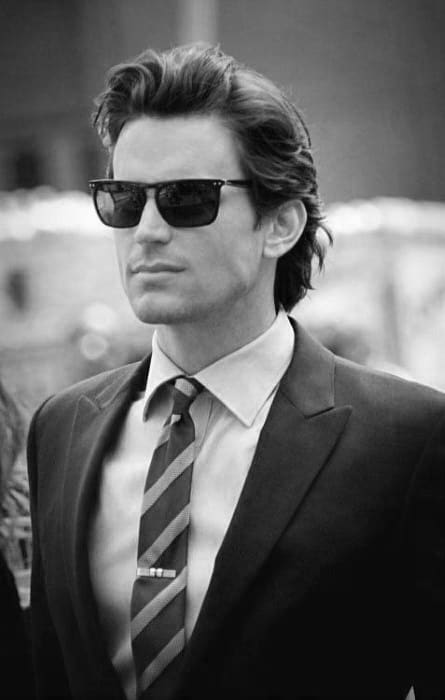 Business Professional Flow Hairstyle For Males