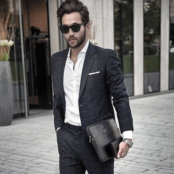 How To Wear A Suit Without A Tie 50 Fashion Styles For Men