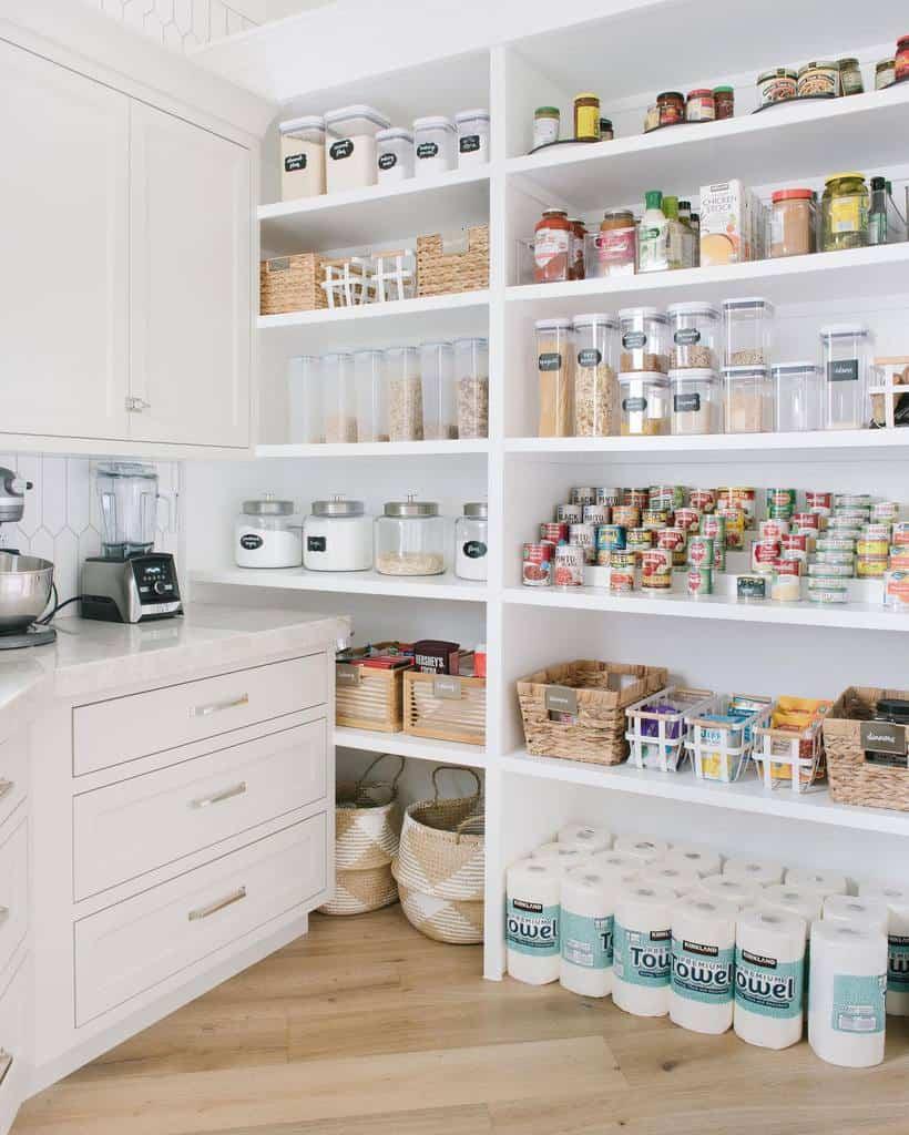 butler pantry organization ideas allisoncampbelldesign