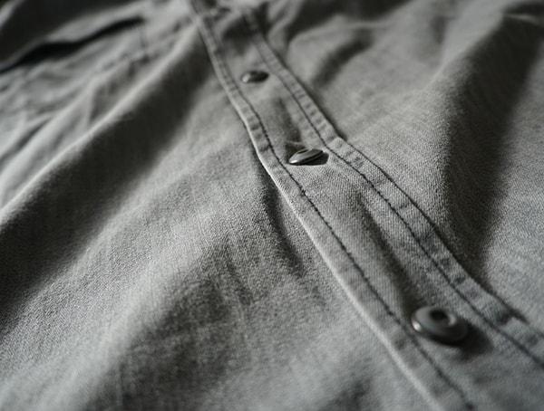 Button Down Snap Buttons Dakota Grizzly Ryder Shirt Chest