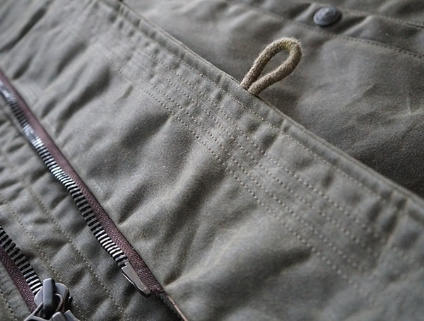 Button Loop Detail Rwith Rugged Stiching On Chest Flag Mens Cockpit Usa Mountain Ranger Parka