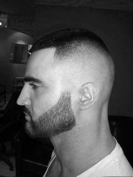Buzz Cut Mens High Fade Hair