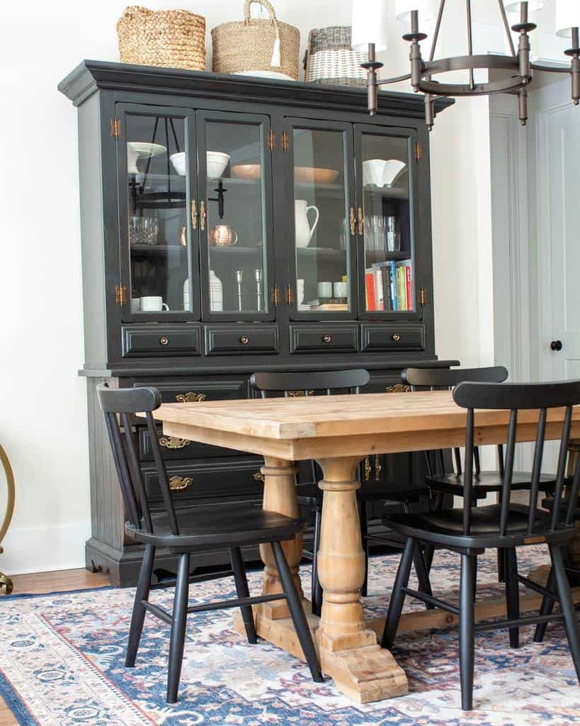 cabinet dining room wall decor ideas little_eclectic_home