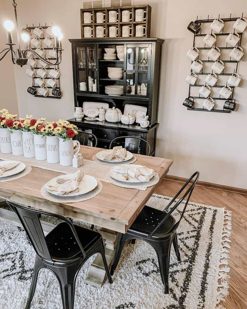 cabinet dining room wall decor ideas mrs_sobczak