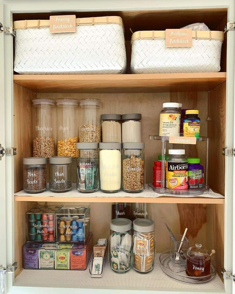 cabinet organization kitchen storage ideas partylittledetails