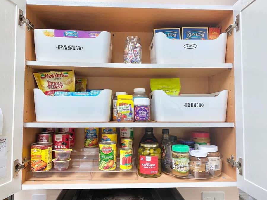 cabinet organization kitchen storage ideas tidying_by_tash