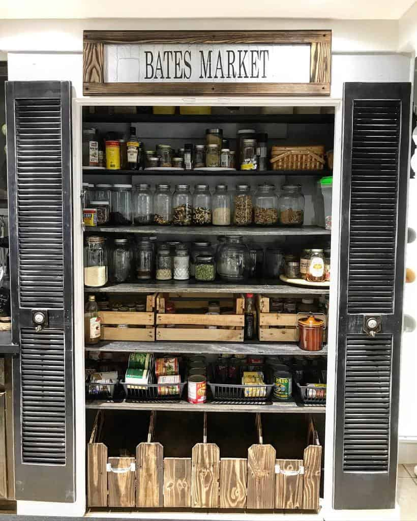 cabinet small pantry ideas bates_house