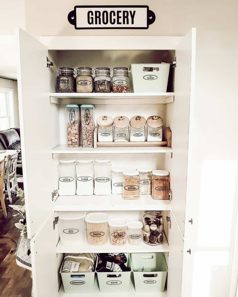 cabinet small pantry ideas farmhousefor8
