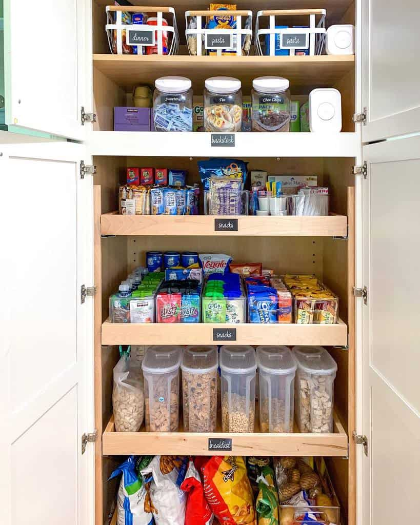 cabinet small pantry ideas time4organizing