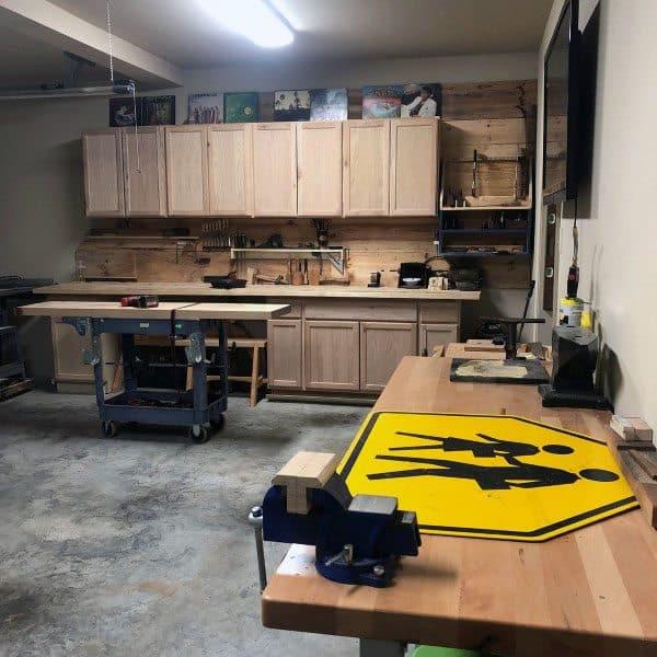 Cabinet Storage Workshop Ideas