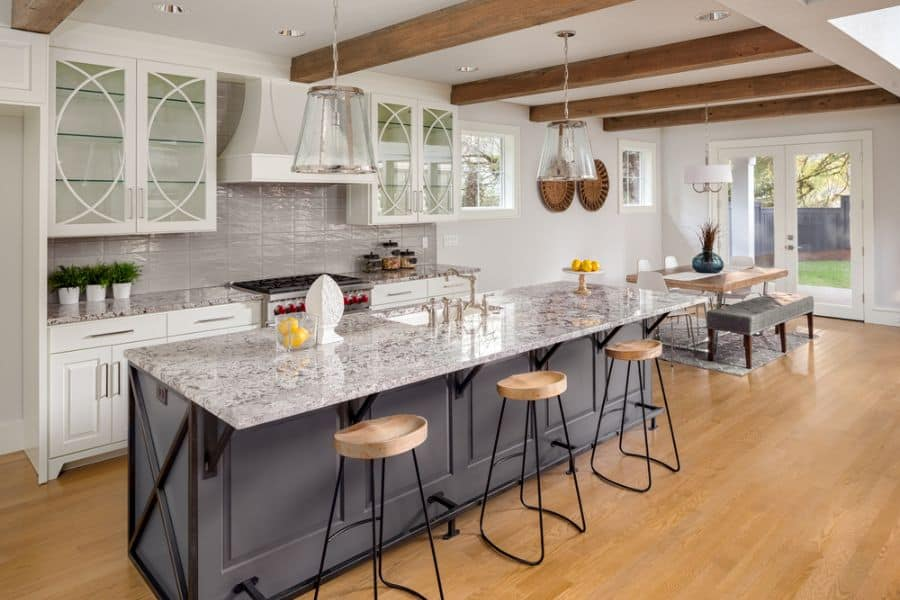 Cabinets And Shelving Modern Farmhouse Kitchen 1