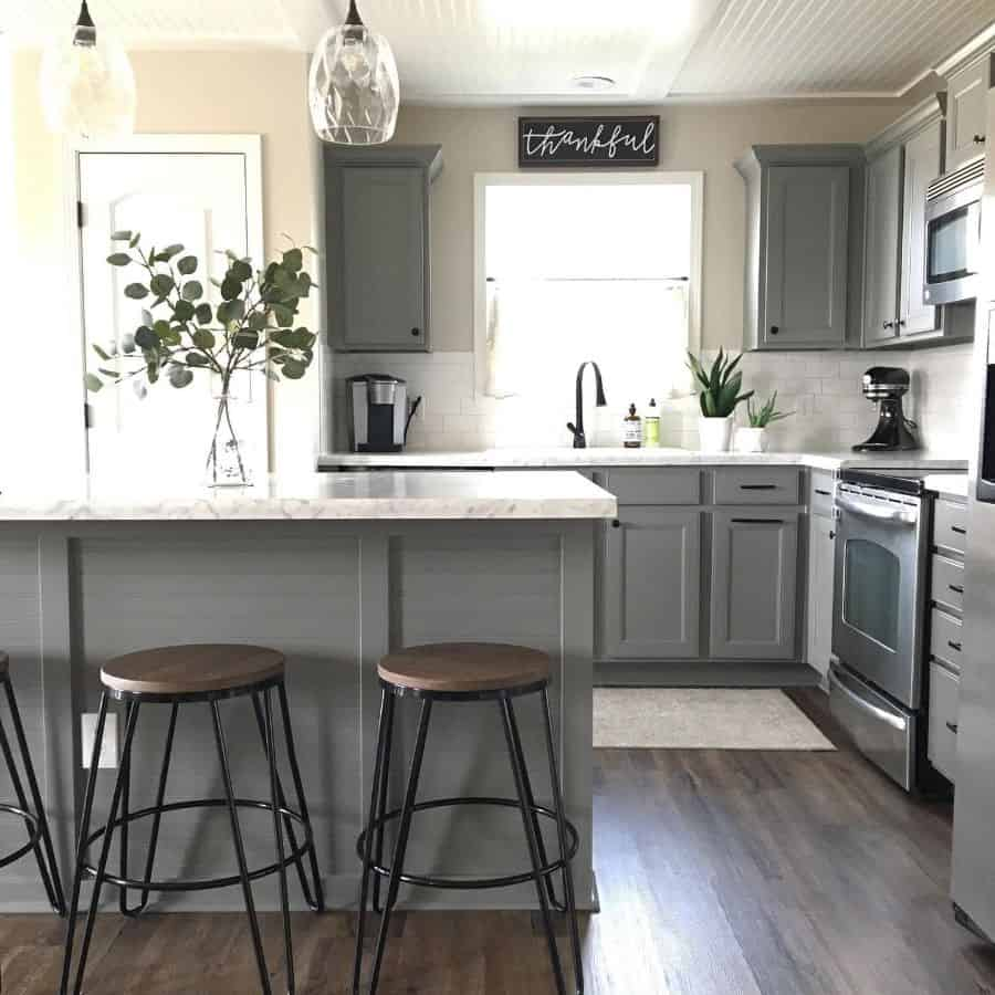 Cabinets And Shelving Modern Farmhouse Kitchen Haven.hue
