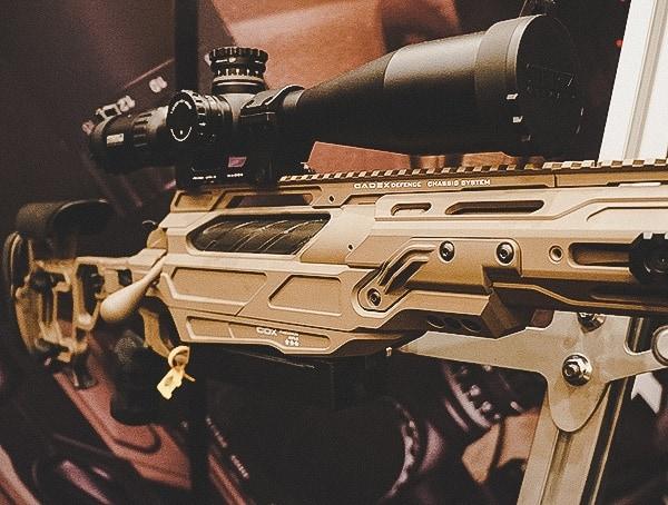 Cadex Defense Rifle