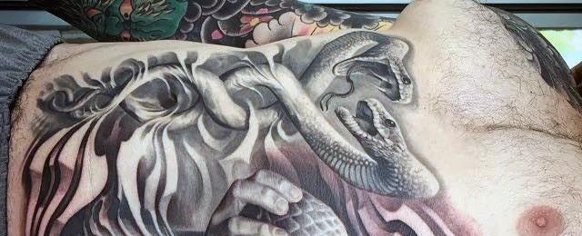 60 Caduceus Tattoo Designs For Men – Manly Ink Ideas