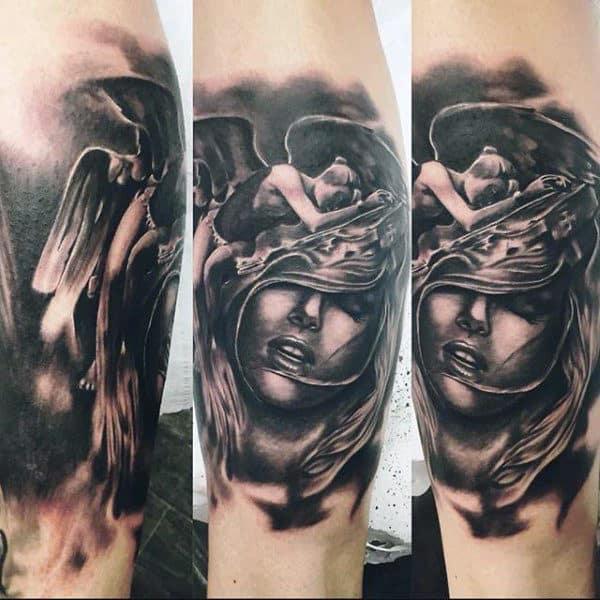 Cal Leg Tattoos For Men