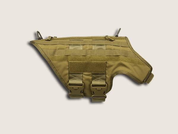 Caliberdog K9 Molle Tactical Dog Vest Harness