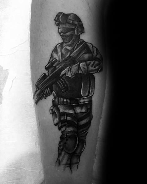 Call Of Duty Tattoo Inspiration For Men