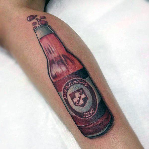 Call Of Duty Themed Tattoo Ideas For Men Soda Bottle