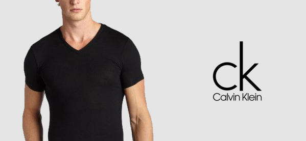Calvin Klein V Neck T-Shirts For Men