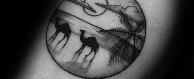 Camel Tattoo Designs For Men