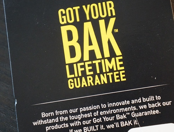 Camelbak Bfm Got Your Bak Lifetime Guarantee Tag