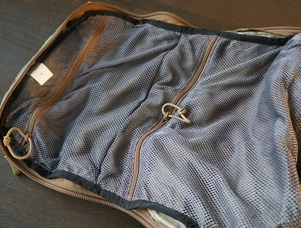 Camelbak Bfm Interior Front Mesh Pockets With Zippers