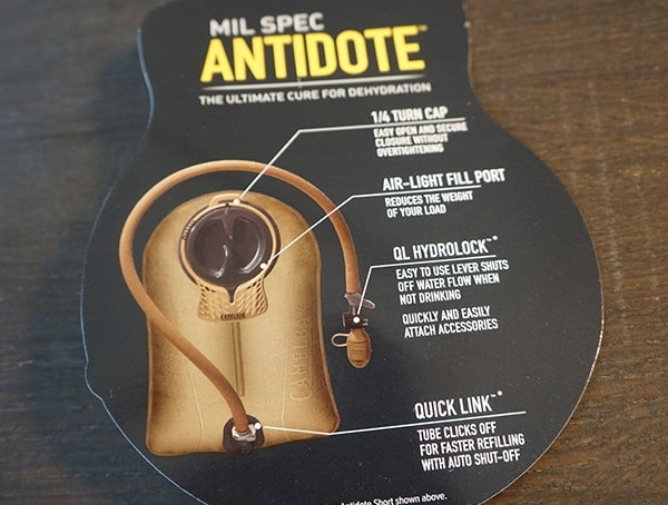 Camelbak Bfm Mil Spec Antidote Hydration